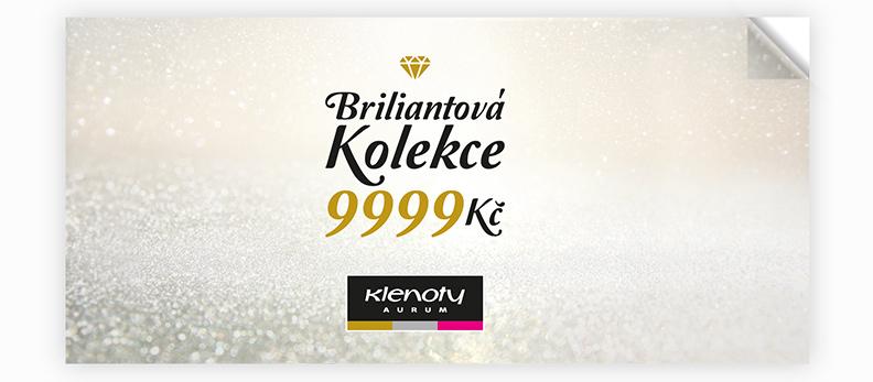Klenoty Aurum CZ - catalog Briliant Collection 9999 Kč