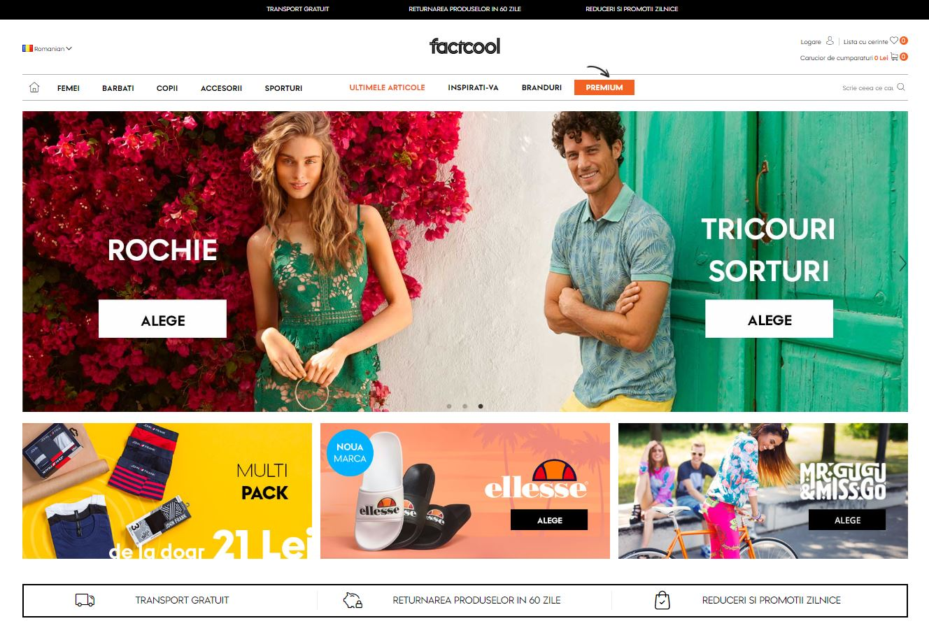 Magazinul online factcool.com
